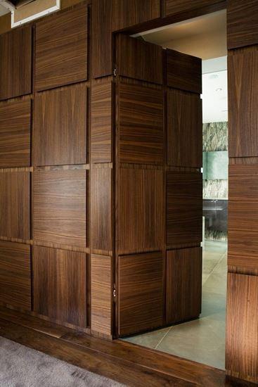 Picture of Walnut Door & Walnut Door. Tagoury Creations